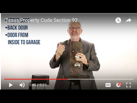 Understanding Texas Rental Laws & the Texas Property Code