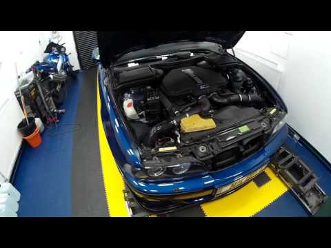 How To - BMW  E39 M5 S62 V8 Electric radiator cooling fan conversion 1080p HD