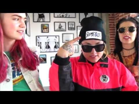 DimePiece Get's a dose of L$D feat. Grimes, Kreayshawn, & Tragik