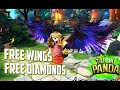 Taichi Panda │ Free wings and free diamonds