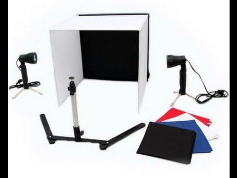 jual mini studio light tent murah youtube. Black Bedroom Furniture Sets. Home Design Ideas