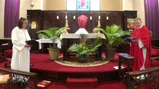 Palm and Passion Sunday, April 5, 2020