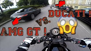 Mercedes Benz AMG GT! | Rennen gegen Ducati! | Zink | Blackout