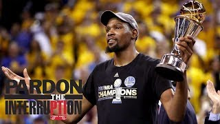 Has Kevin Durant been unfairly criticized? | Pardon The Interruption | ESPN