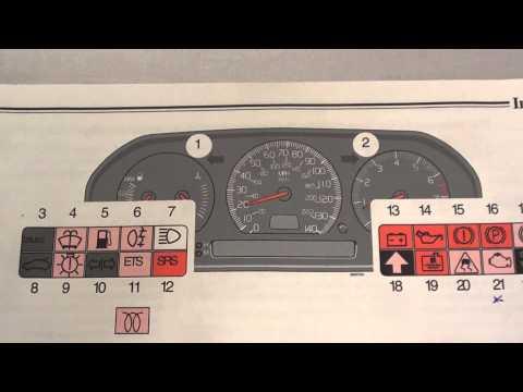 Volvo S70 Dashboard Warning Lights & Symbols