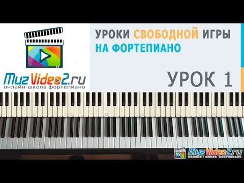 Урок 2 часть 1. Курс фортепиано для начинающих