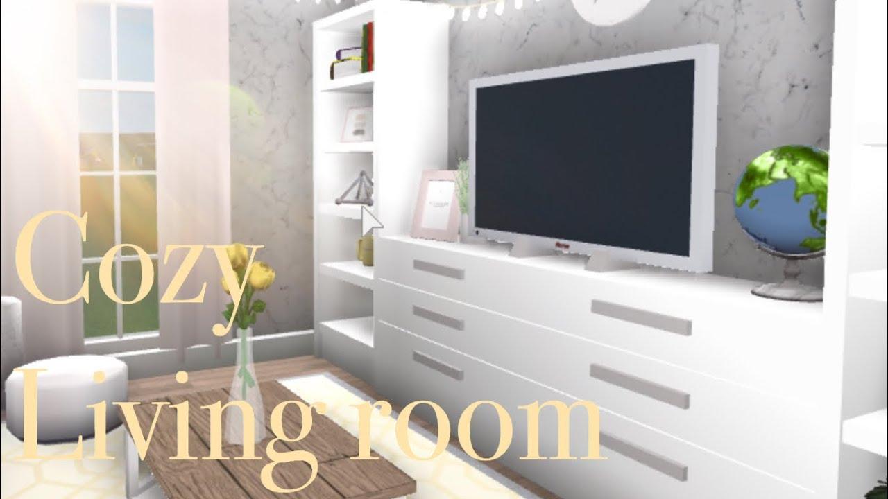 Aesthetic Bloxburg Living Room Welcome To Bloxburg Roblox Youtube