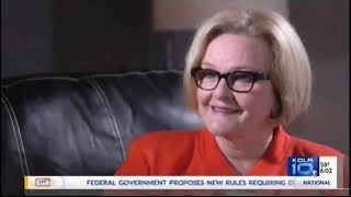 Claire McCaskill Responds to FIRST Undercover Video on Local News