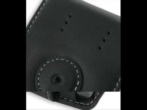 Leather Case for Samsung Epix SGH-i907 - Flip Type (Black)