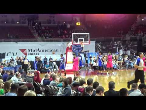DELAWARE 87ERS BEAT THE IOWA ENERGY!!