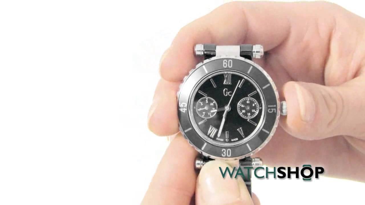 ed6f8ad0b Gc Ladies' Diver Chic Ceramic Watch (I35003L2) - YouTube