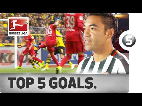 Marco Fabian - Top 5 Goals - 2016/17 Season