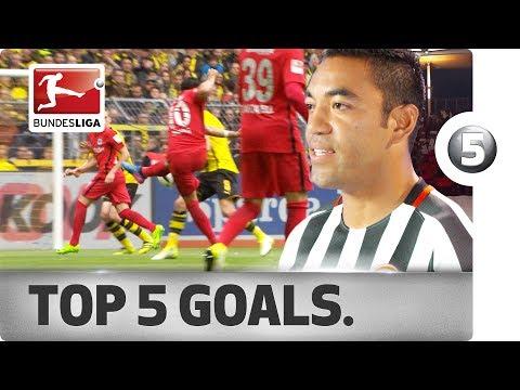Marco Fabian - Top 5 Goals - 2016/17 Season