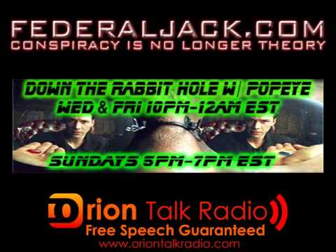 Down The Rabbit Hole w/ Popeye (07-11-2012) Gun Buying Basics, Gun Control & FDA Raids Lase Med Inc