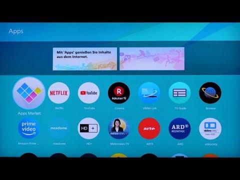 Panasonic Tutorial: Installation Einer App Auf Dem TV-Gerät.
