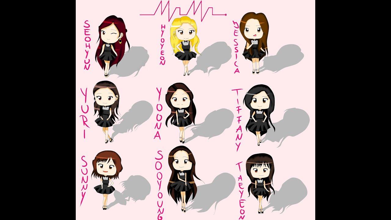 Drawing Girls Generation SNSD