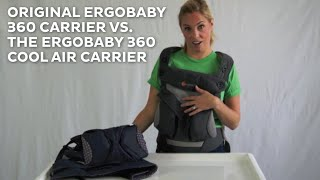 Ergo 360 Carrier - Original vs Cool Air REVIEW 2015 | ratings | comparisons | prices