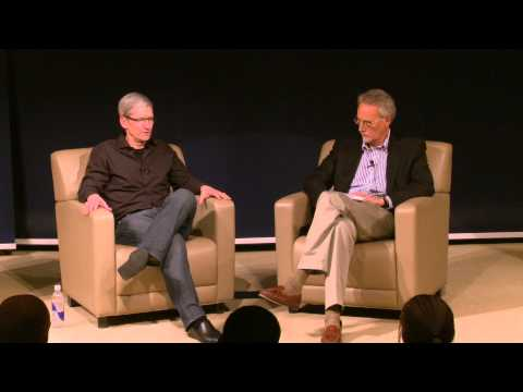 Apple CEO Tim Cook on Inspirational Leaders
