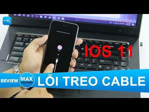 Khắc Phục Lỗi Treo Cable, ITunes Khi Hạ Cấp IOS 11 Xuống IOS 10