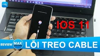 Khắc phục lỗi treo Cable, iTunes khi hạ cấp iOS 11 xuống iOS 10