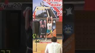 ЗМС РК Евгений Гончаров (Актобе) - Чемпион Казахстана-2018 длинный цикл 80 подъемов 2 гири по 32 кг