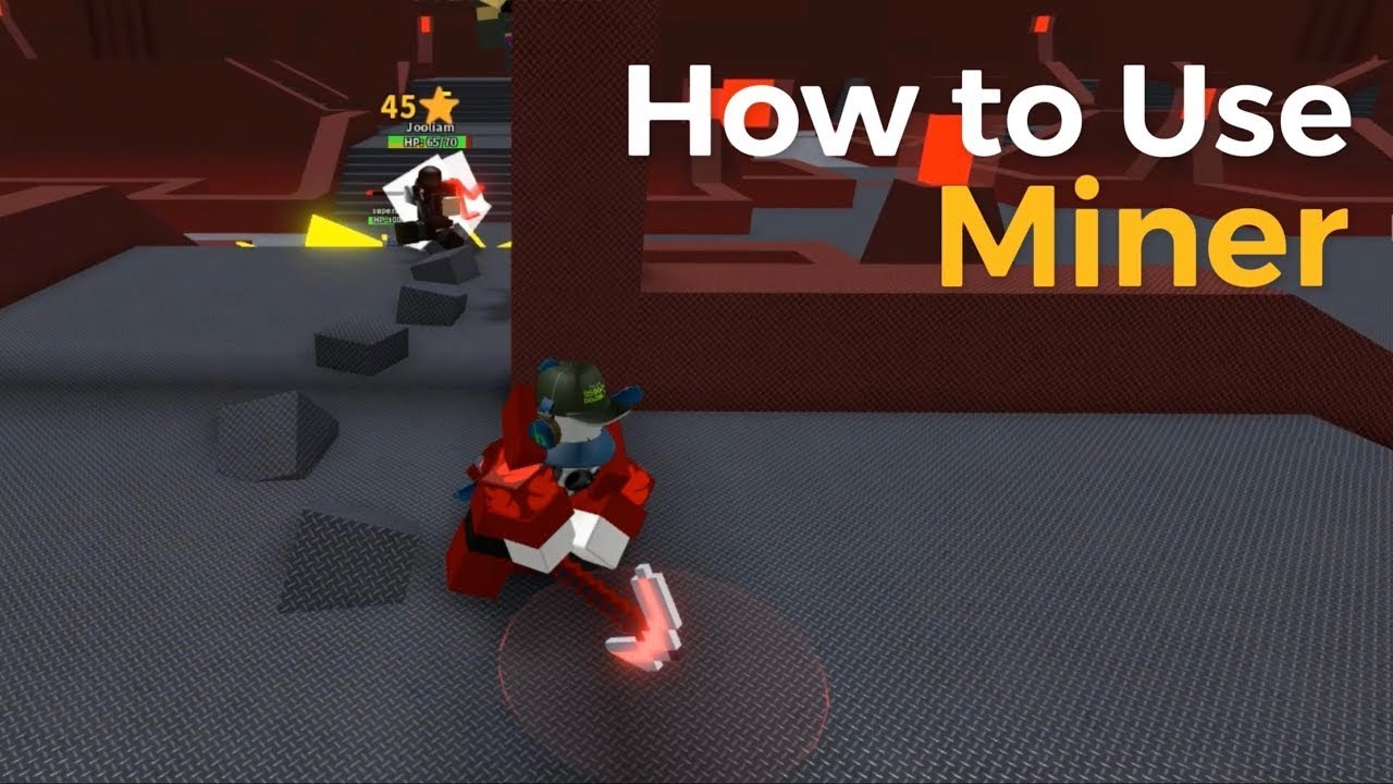 How To Use Miner Project Submus Accudo Classic Roblox Youtube