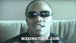 Kassim Ouma talking up Cory Spinks in Suite Exclusive Interview Boxingtalk Classic