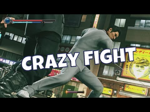 Yakuza Kiwami 2 Crazy Fight |