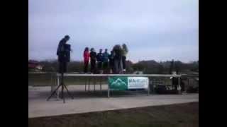 2013 11 23 Mezei Futóverseny 14 éves lány eredményhirdetés