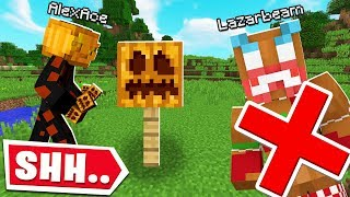 DON'T SHOW LAZARBEAM THIS MINECRAFT VIDEO...
