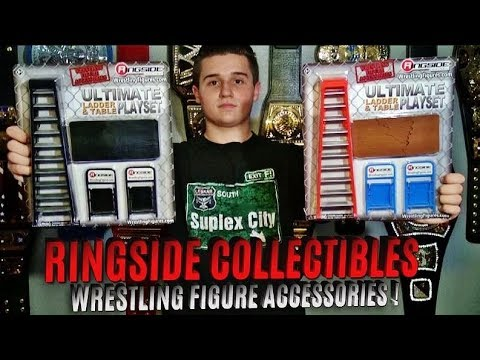 WWE RINGSIDE COLLECTIBLES - TABLES LADDERS & CHAIRS ACCESSORIES