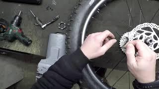 FATBIKE - montáž brzdového kotouče nejen na fatbike
