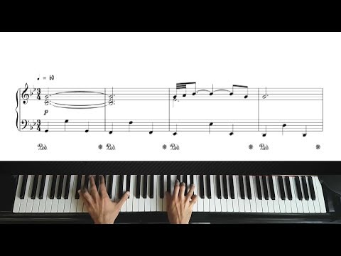 Adagio in G minor  Albinoni  Piano Tutorial