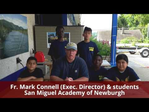 July 2017 - USCF, San Miguel Academy of Newburgh - grant ck pres VIDEO