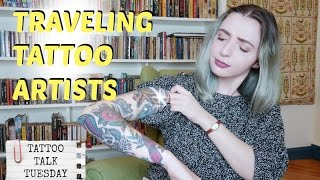 Traveling Tattoo Artist! What you need to know! Tattoo Talk Tuesday.