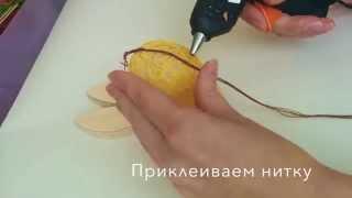 видео Как сделать пасхальное яйцо