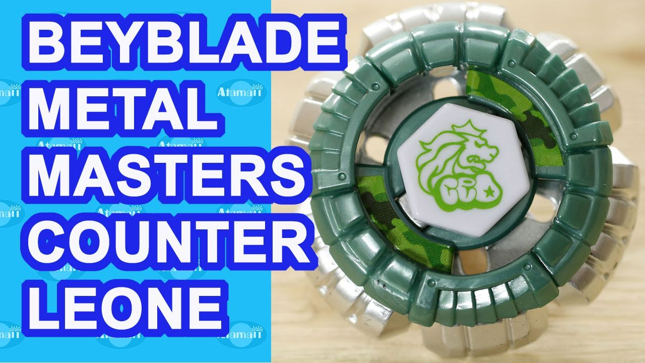 Beyblade Metal Masters Counter Leone BB-04 Beyblade Review ...