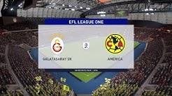 Galatasaray Vs América #88 Liga Mundial