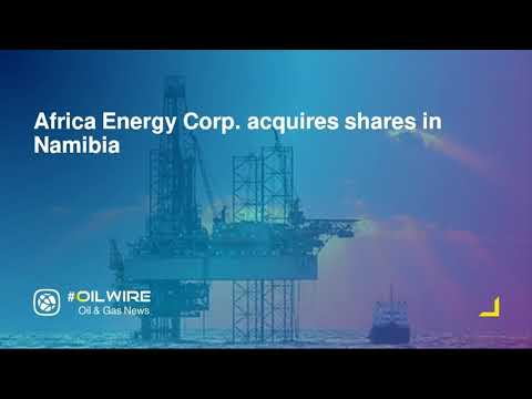 Africa Energy Corp  acquires shares in Namibia
