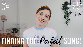HOW TO FIND THE PERFECT AUDITION SONG! | MUSICAL THEATRE | Georgie Ashford