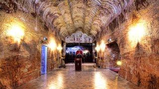 Подземный город в Австралии. Город под горой