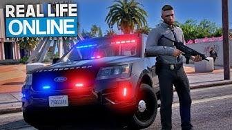 FÜR SICHERHEIT SORGEN! 😎 - GTA 5 Real Life Online