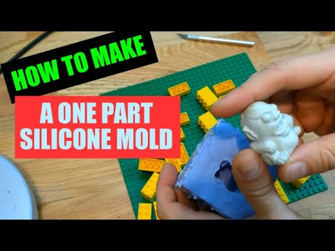 Tutorial: How to Make a One Part Silicone Mold for a Resin Figurine