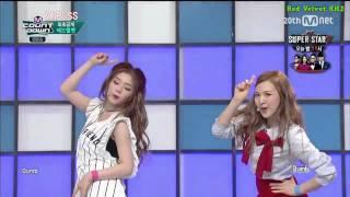 [HD繁中字] 15.09.10   Red Velvet - Dumb Dumb . LIVE
