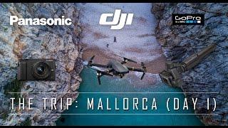 *4k UHD* DJI Mavic Pro Drone Fly Trip - Day 1 VLOG Mallorca