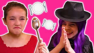 TRAPPED INSIDE A MAGIC DISHWASHER 🍽️ Malice Pranks Isabella! - Princesses In Real Life | Kiddyzuzaa