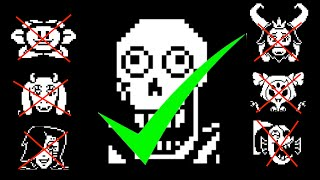 What happens if you kill everyone but Papyrus?