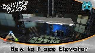 Ark survival evolved how to spawn an elevator clipzui ark building tips tricks no mods how place elevators malvernweather Gallery