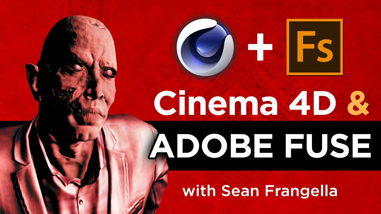How to send 3D Characters from Adobe Fuse to Cinema 4D