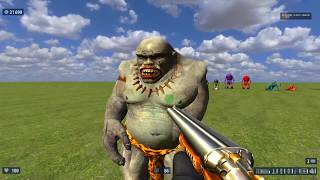 Serious Sam HD - Remastered Enemy Resource (HD) 2017 Demonstration